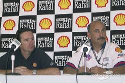Press conference: Jimmy Vasser and Bobby Rahal