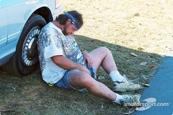Too much racing, or too much beer?