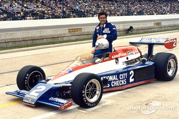 Al Unser Sr. was the first Cosworth DFX-powered Indianapolis 500 winner in 1978