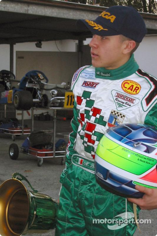 InterContinental A 100cc: Matteo Bossini