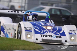 The #16 Dyson Racing Team Ford Riley & Scott maneuvers around Daytona International Speedway