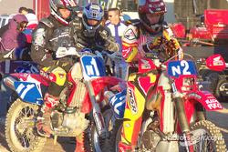 American Honda pre-start - Campbell, Hengeveld