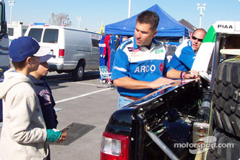 LASD Racing for Kids on contingency row
