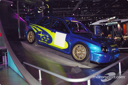 Subaru World Rally 2001 champion car
