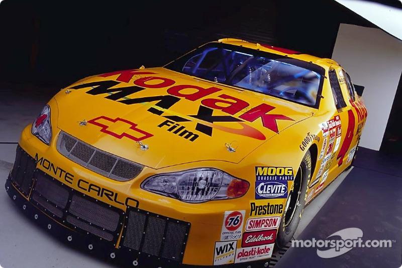 The new 2002 No. 4 Kodak Max Film Monte Carlo