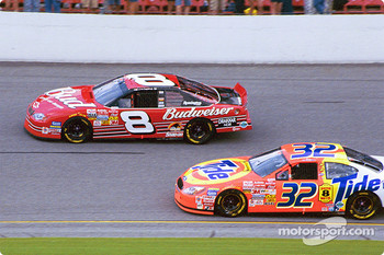 Dale Earnhardt Jr. and Ricky Craven