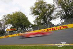 The Ferrari is definitely too fast