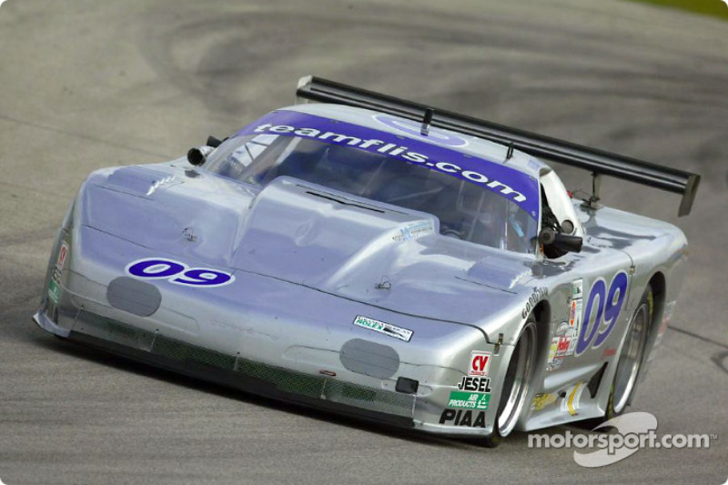 The #09 Indicom Auto Group Corvette of Flis Motorsports led the American GT field during Thursday's practice sessions