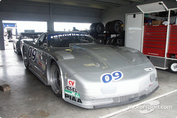 The #09 Indicom Auto Group Corvette of Flis Motorsports
