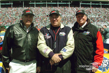 M&M's Racing team owners: Tom Beard, Nelson Bowers II and Read Morton