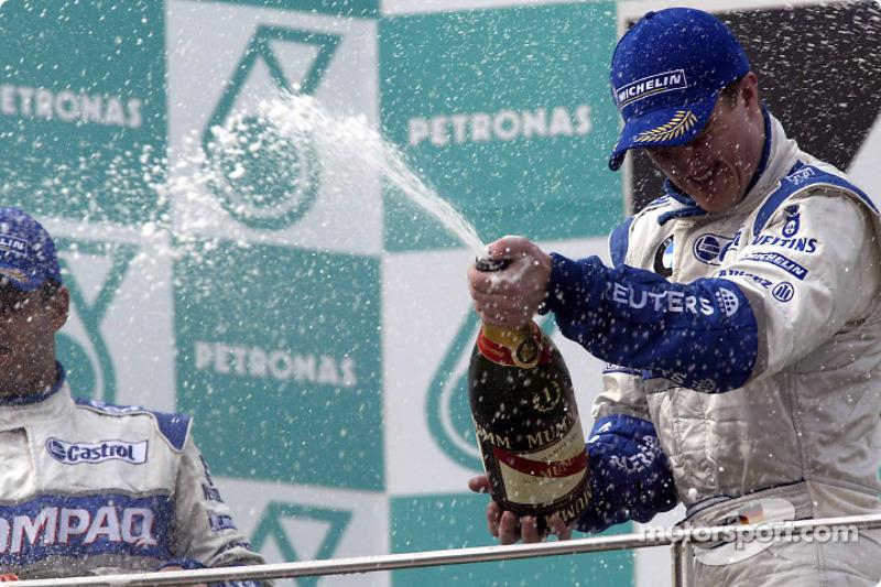 Champagne for Ralf Schumacher