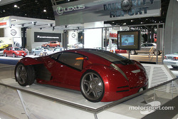Lexus concept from movie