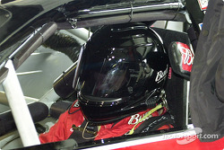 Dale Earnhardt Jr. with a full helmet!