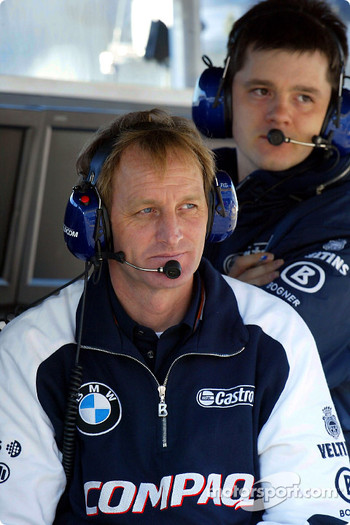Williams-BMW crew members