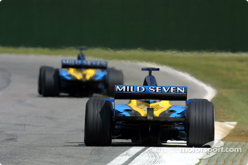 The two Renaults