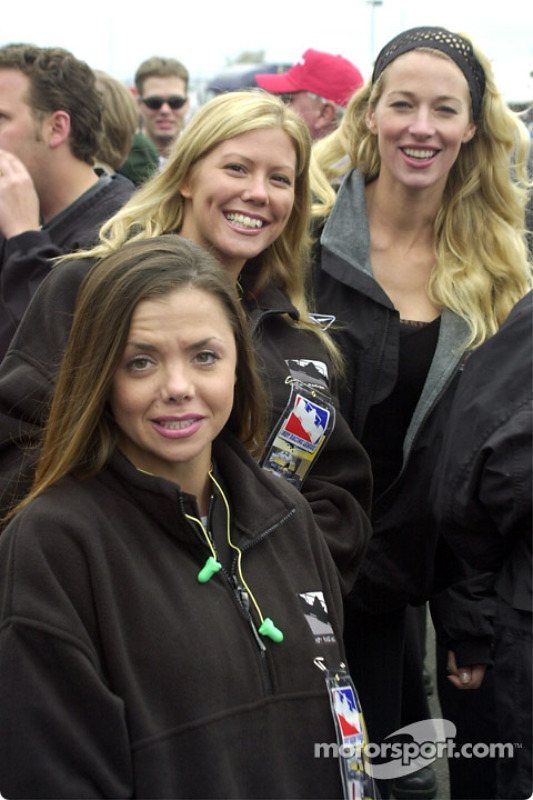 A bevy of beauties for Sunday's opening ceremonies