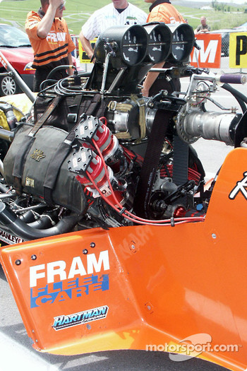 Top Fuel Powerplant