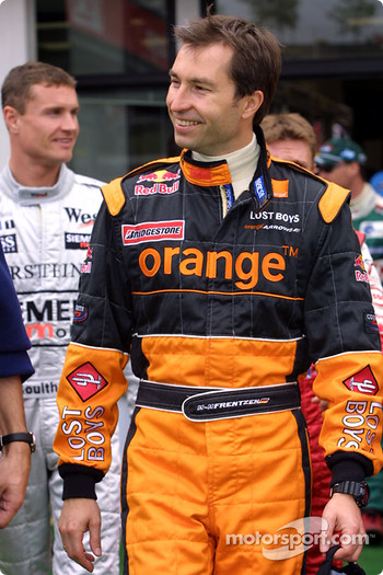 Drivers parade: Heinz-Harald Frentzen