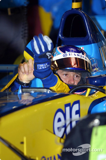 Jarno Trulli in the morning warmup