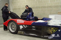 Panoz Motor Sports getting ready for pre-qualifying