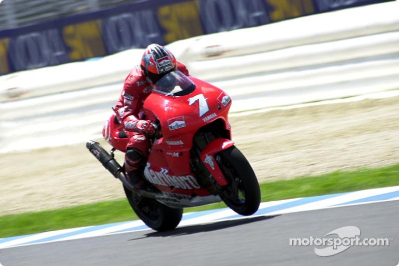 Carlos Checa wheelies