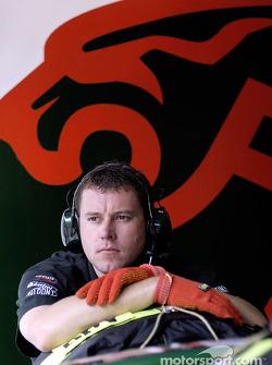 Jaguar crew member