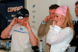 Ralf Schumacher and wife Cora