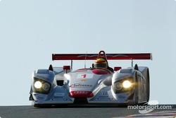 Frank Biela in the Audi R8 #1