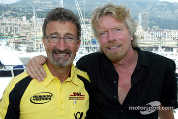 Eddie Jordan and Richard Branson