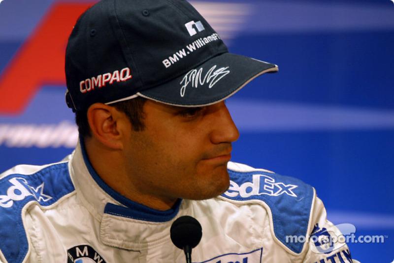 FIA Saturday press conference: pole winner Juan Pablo Montoya