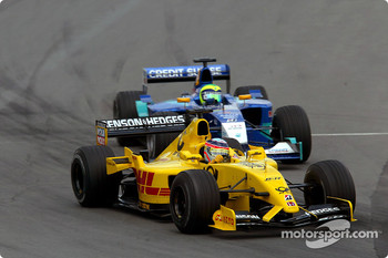 Takuma Sato and Felipe Massa