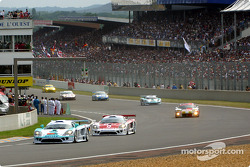 The start: the LM GTs and GT cars