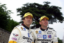 Ron Fellows and Oliver Gavin