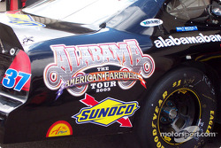 A special sponsor for Derrike Cope
