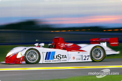 Doran Lista Racing's #27 Judd-powered Dallara took the pole with Didier Theys behind the wheel