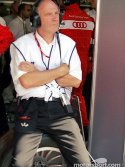 Head of Audi Sport Wolfgang Ullrich