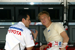 Ange Pasquali and Mika Salo