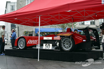 The ALMS and Panoz made a quick stop in Old Montral before heading to Trois-Rivires