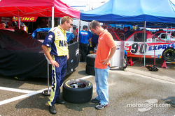 Roush driver Jon Wood and crew chief Jeff Campey