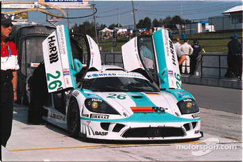 Saleen had some problems