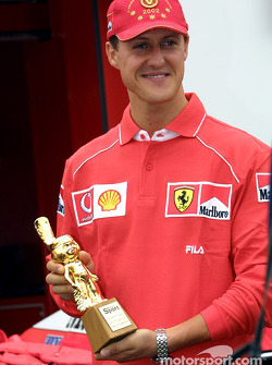 Another award for Michael Schumacher