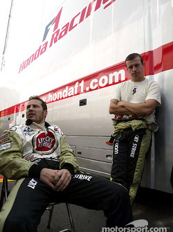 Jacques Villeneuve and Olivier Panis