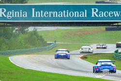 Practice action at VIR