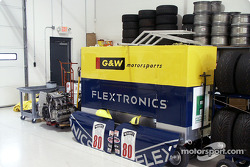 G & W Motorsports shop at VIR