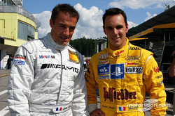 Jean Alesi and Laurent Aiello