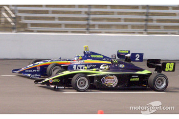 Ed Carpenter and G.J. Mennon