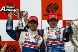 2nd #100 Honda NSX, Hiroki Kato, Hidetoshi Mitsusada