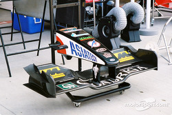 Minardi front wing