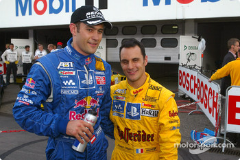 Karl Wendlinger and Laurent Aiello