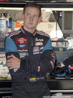 Kurt Busch looks contemplative